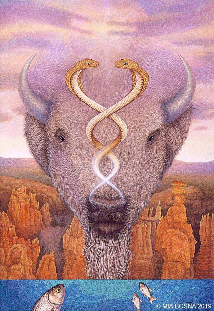 Shamanic artwork - Air Spirit