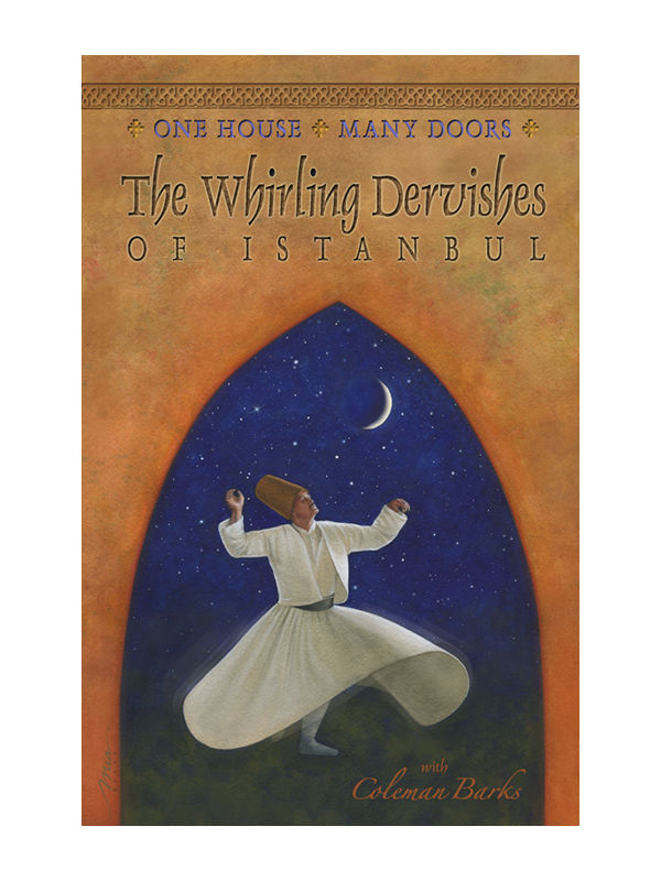 whirling dervish looking up into sky
