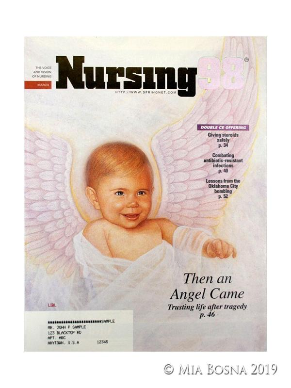 Baby As Angel Illustration, Angel Baby