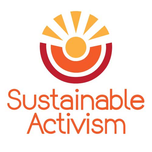 Uplifting Logo for Sustainable Activism by Mia Bosna