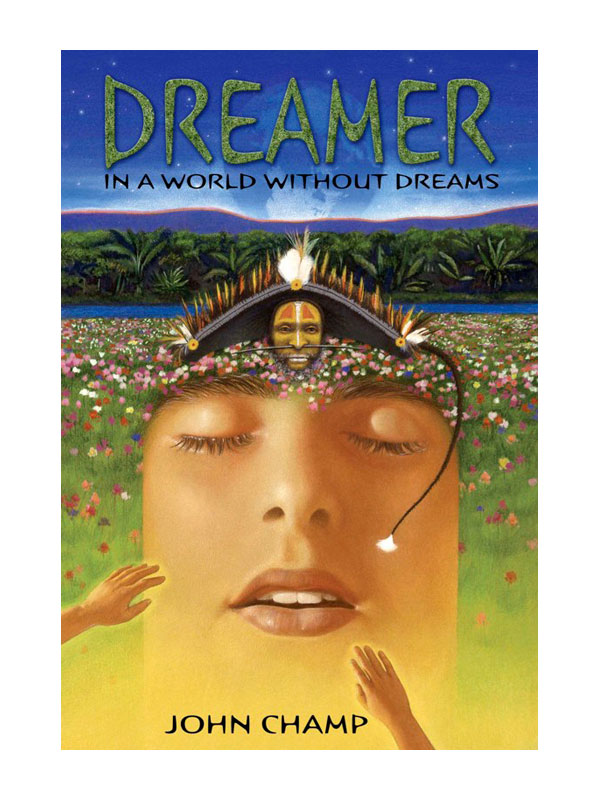 dreamer image with indian and sky image