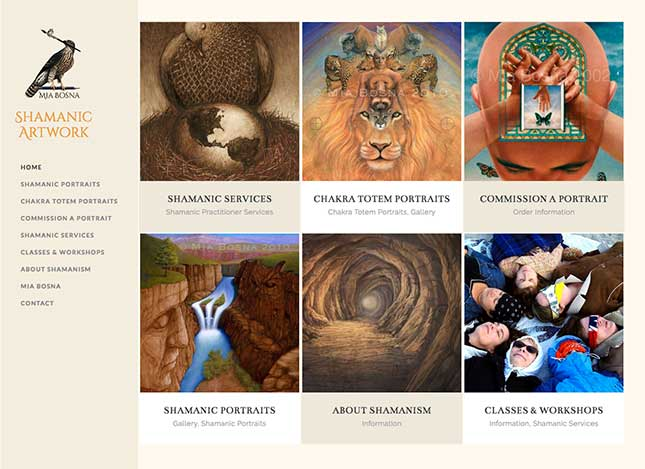 shamanicartwork-website
